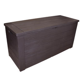 outdoor storage boxes plastic. storage box outdoor garden patio plastic chest lid container wooden effect 300l preview boxes