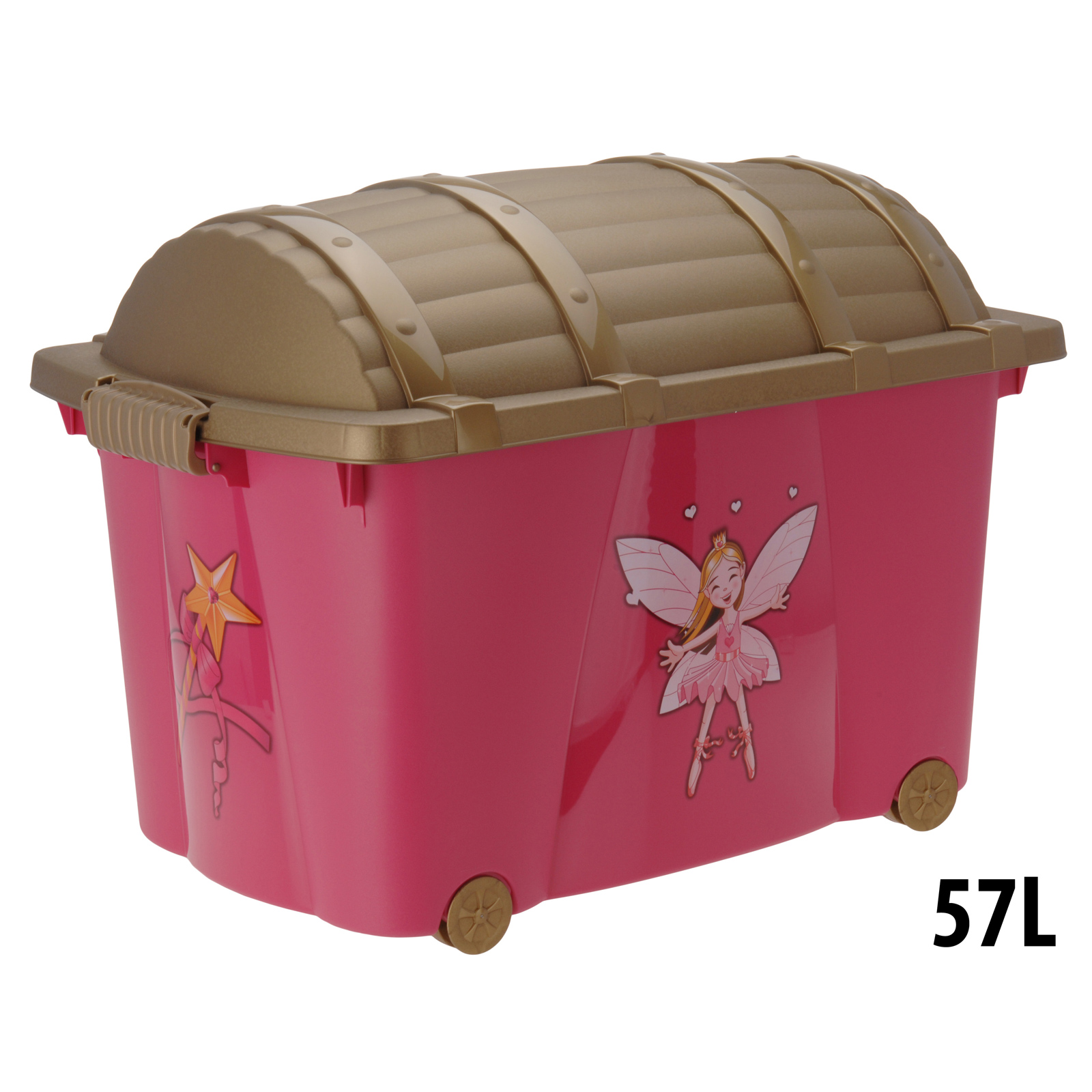 Fairy Childrens Plastic Storage Container Toy Chest Box  sc 1 st  Listitdallas & Plastic Toy Storage - Listitdallas