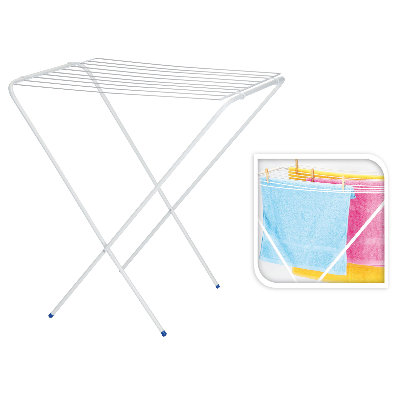 Clothes Laundry Airer Dryer Outdoor Indoor Washing Horse