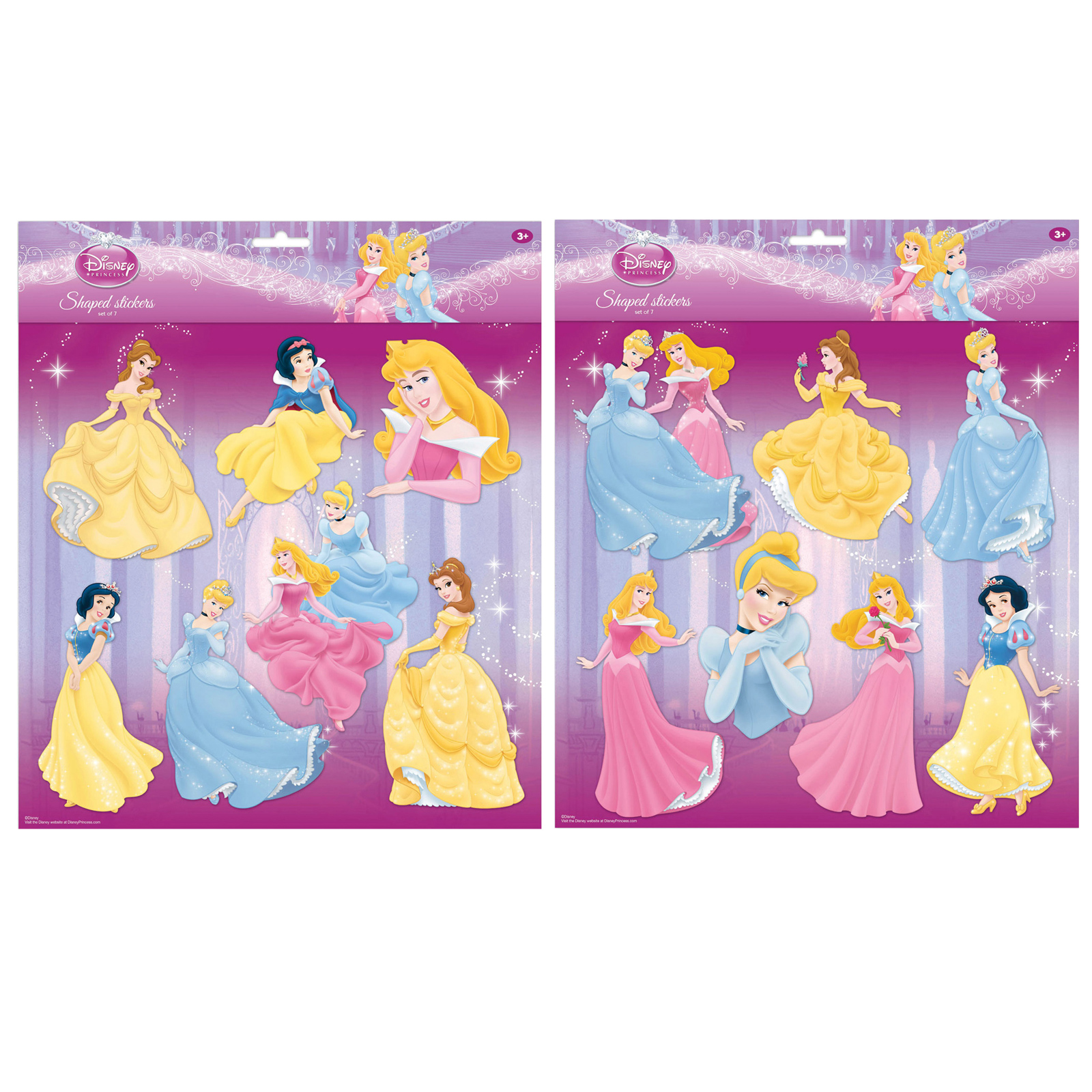 Disney princess wall stickers girls art bedroom for Disney princess wall mural stickers