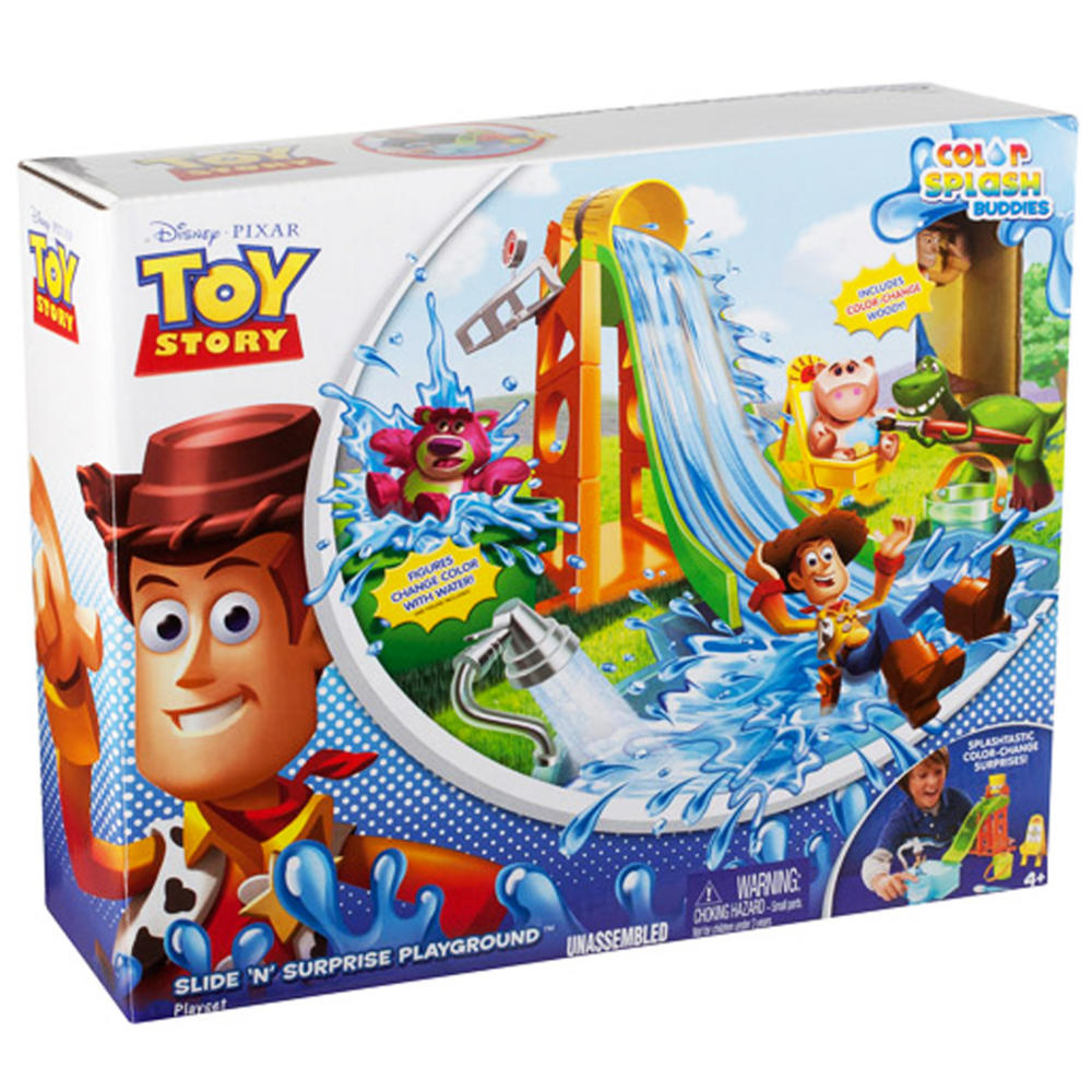 Toy Story Playground : Disney toy story slide n surprise water figures