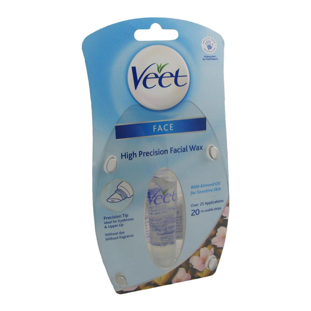 veet sensitive skin high precision wax strips hair
