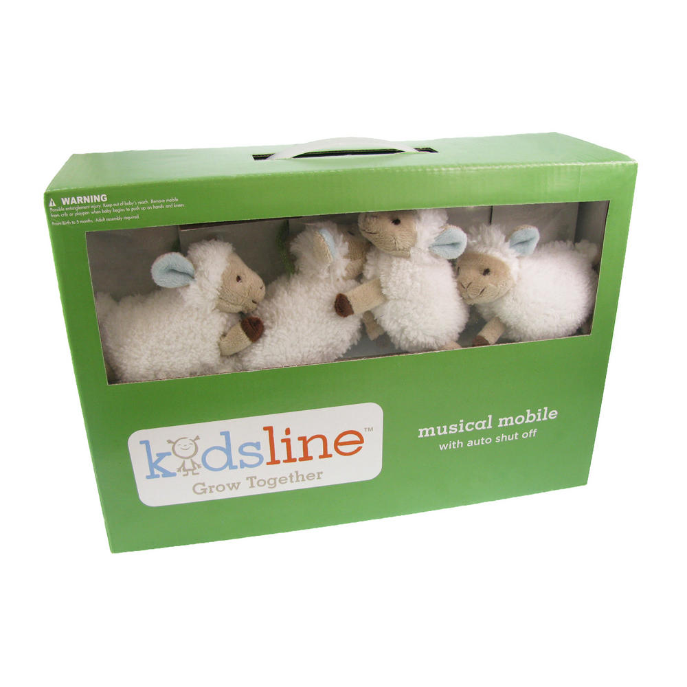 Kids Line Grow Together Baby Crib Counting Sheep Toy