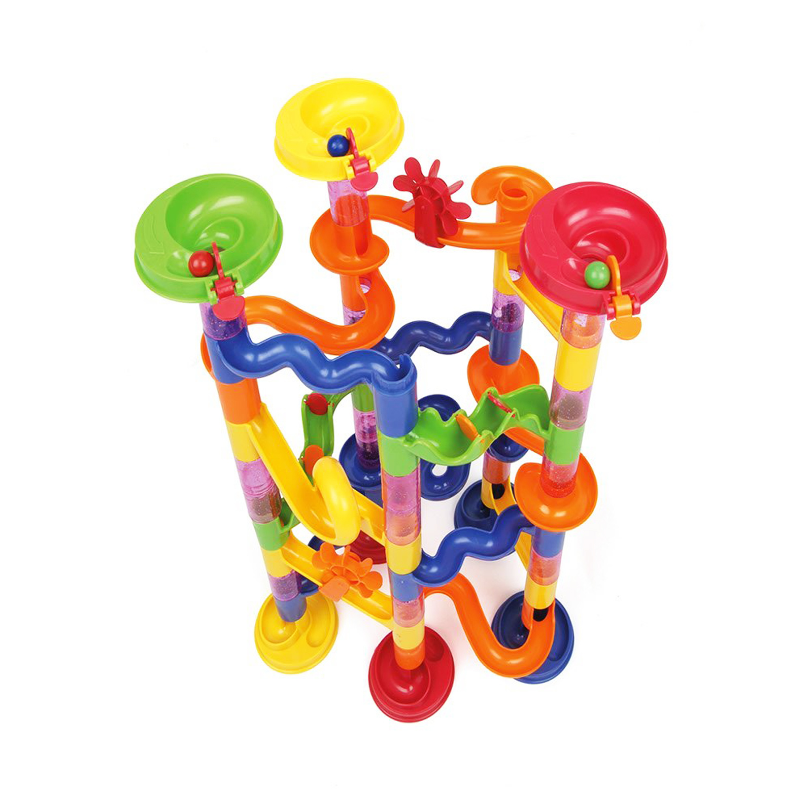 Toys For Marbles : Toyrific deluxe pcs customisable toy marble run
