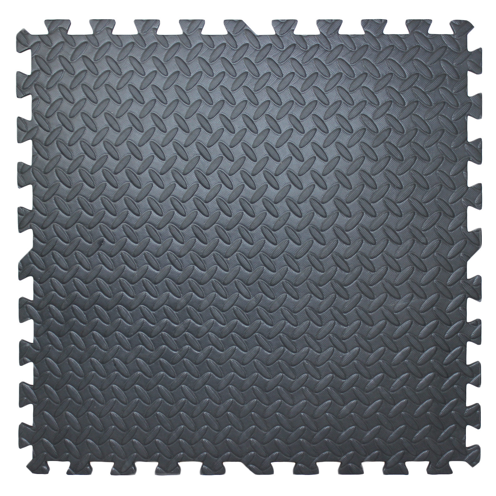 Foam Floor Mat Interlocking Play Garage Gym Soft Exercise Tiles Set Of