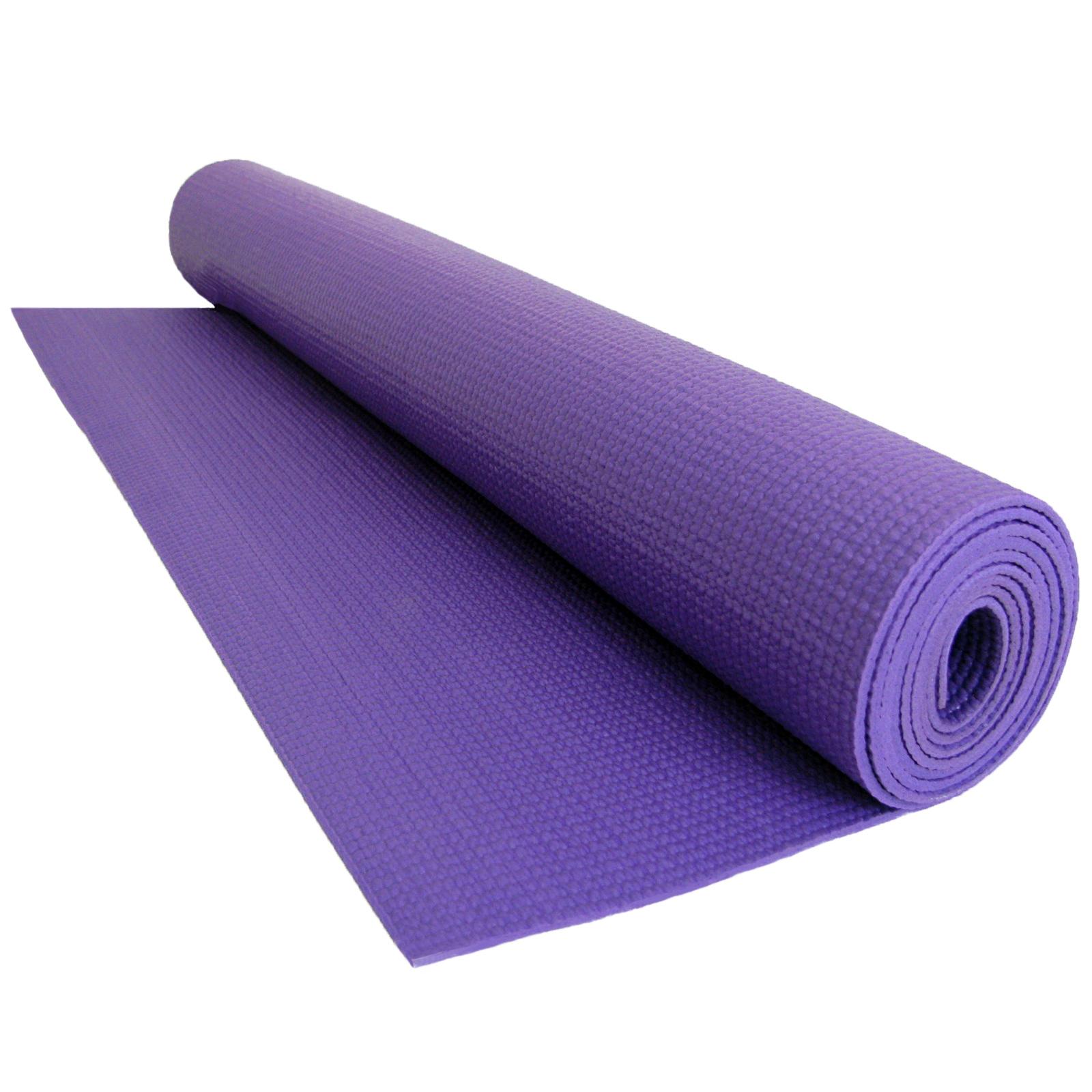 Yoga Exercise Mat Fitness Physio Pilates Gym Non Slip