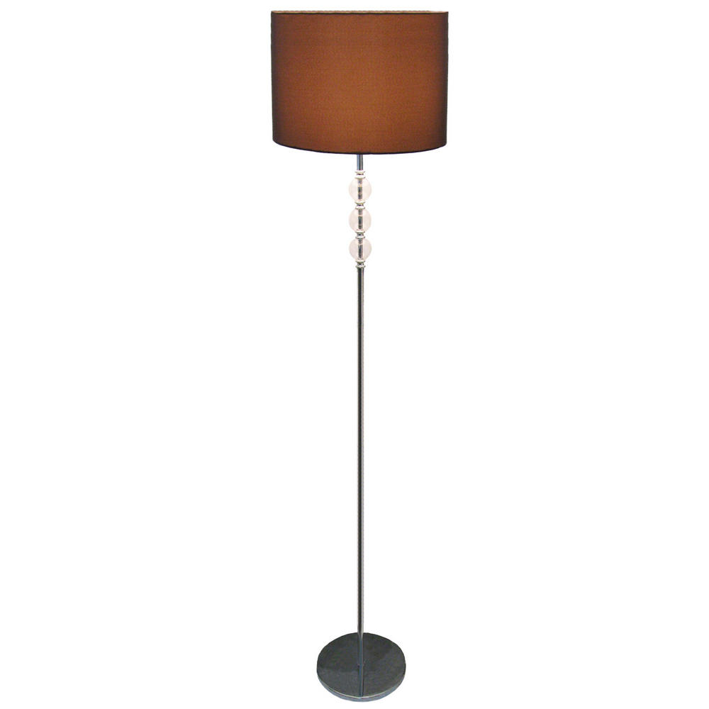 Modern Metal Standing Glass Balls Floor Lamp - Chocolate ...