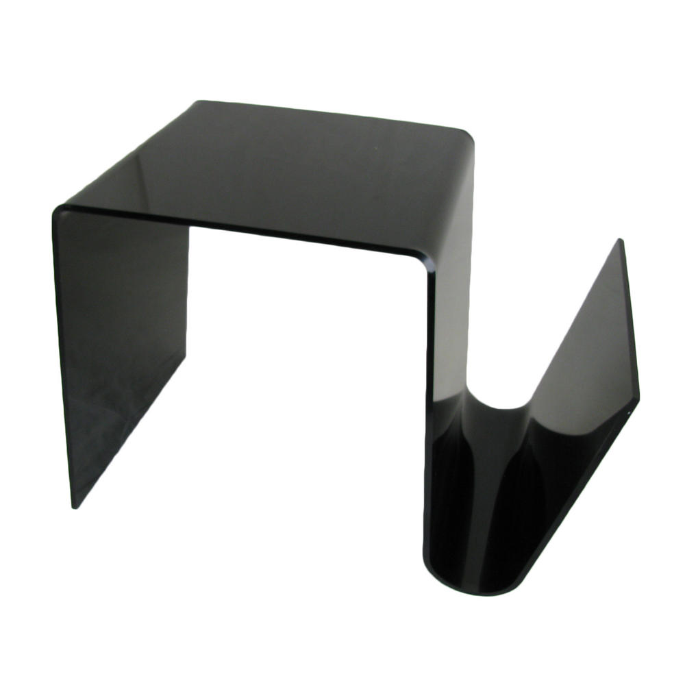 Modern black side table - Thumbnail 1 Thumbnail 2