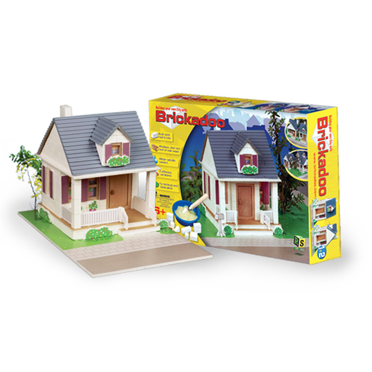 Construction Toy Brickadoo House Building Blocks Rs2play