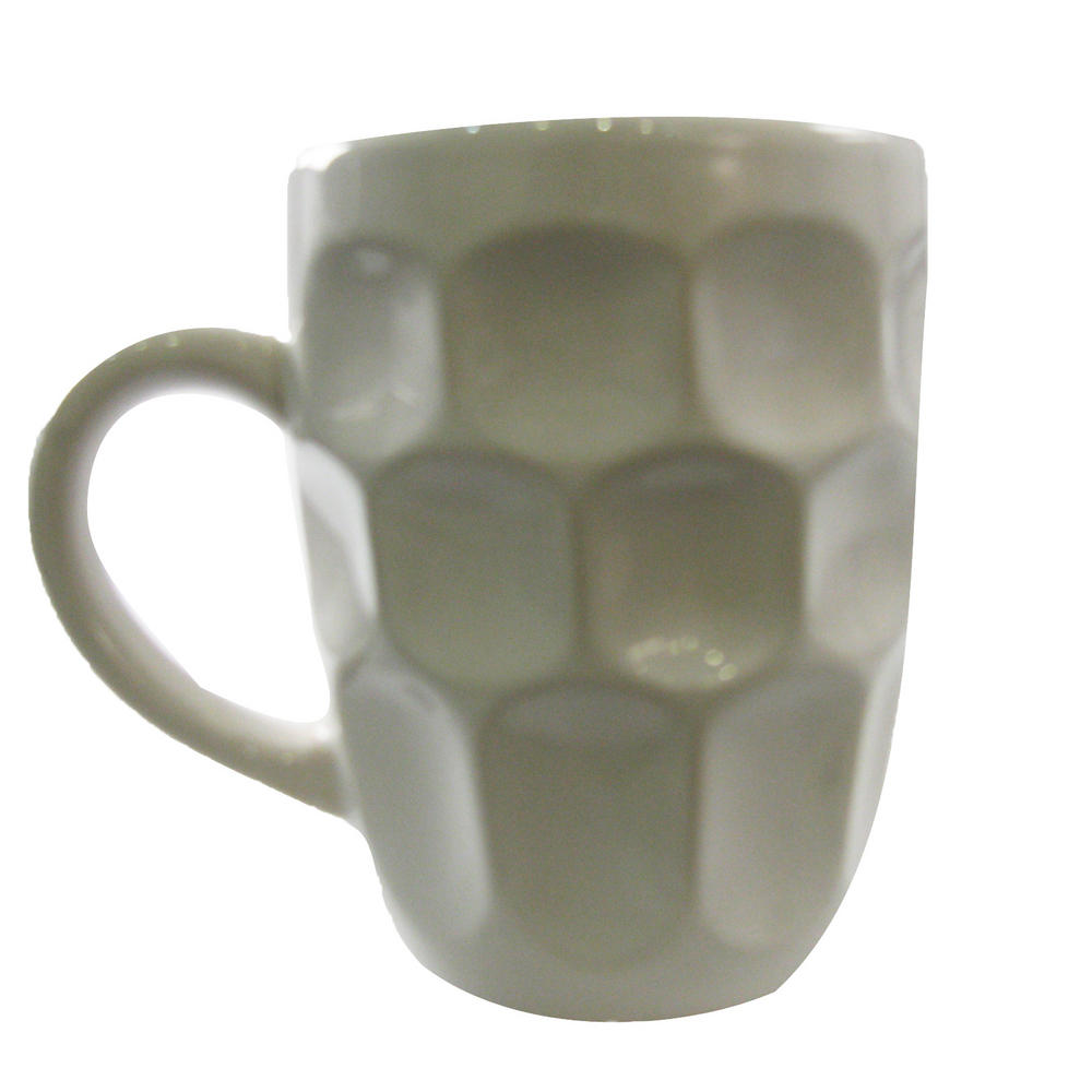 Bluw Large White Ceramic Novelty Fun Tea And Coffee Office