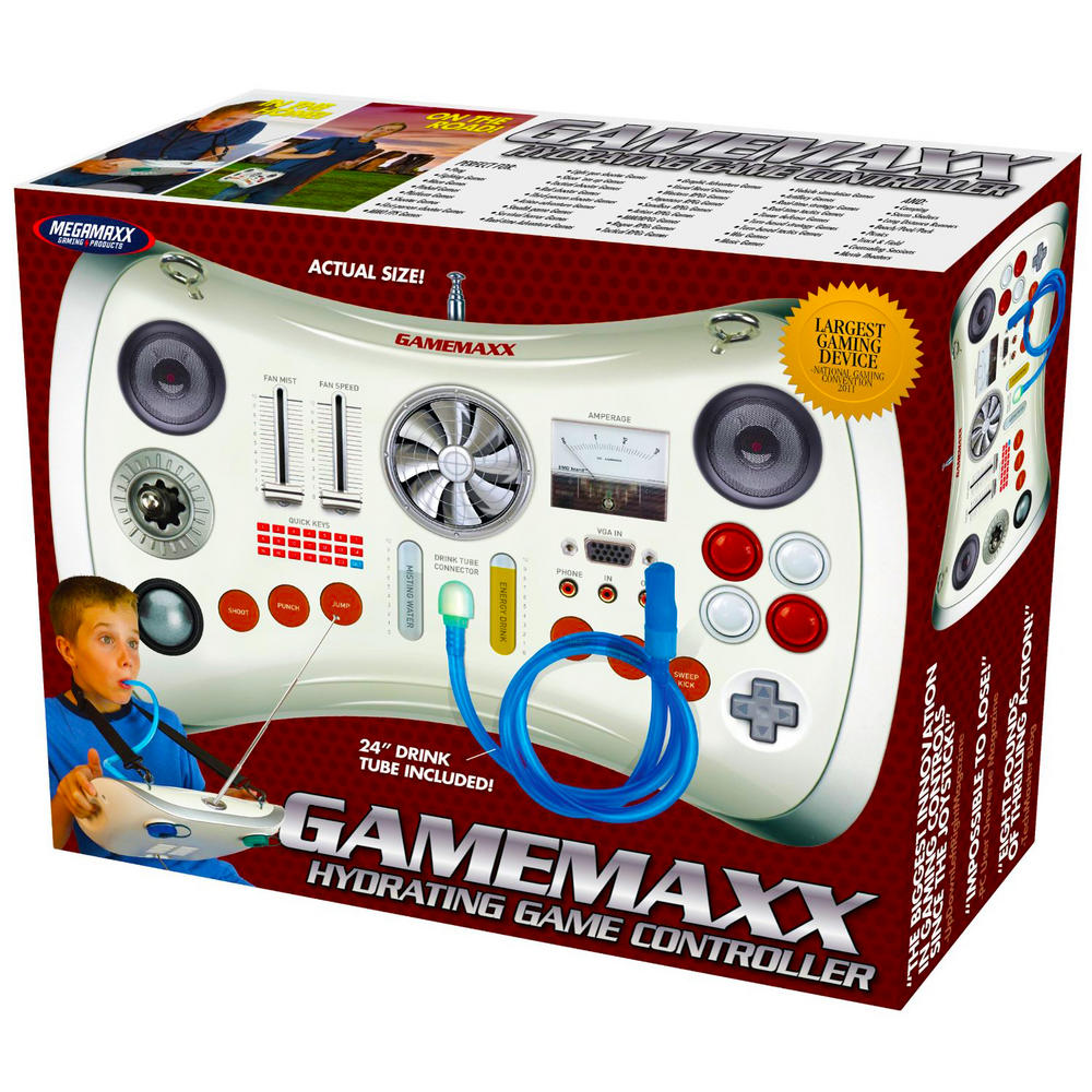 Novelty prank gift box gamemaxx controller birthday for Perfect drink pro scale