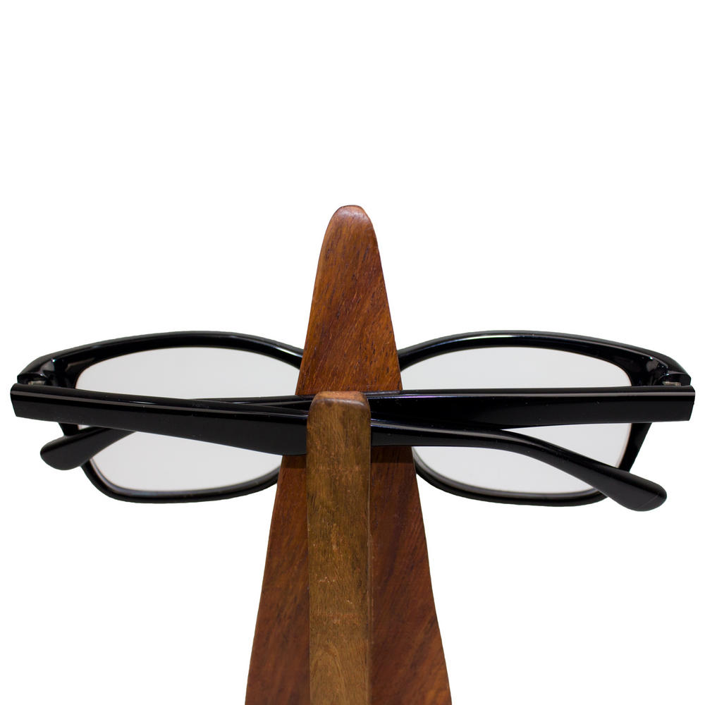 Wooden Glasses Stand Sunglasses Reading Vintage Retro