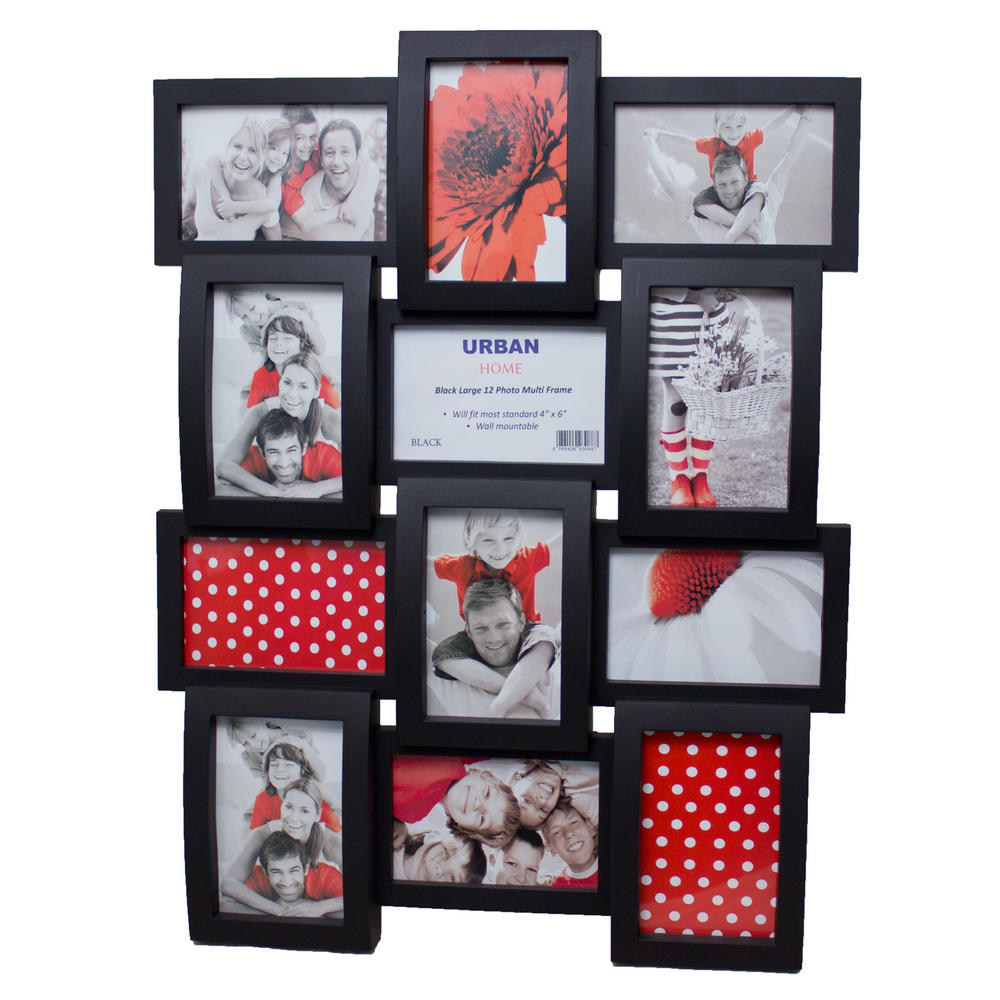 View Item Photo Picture Frame Black Style Chic Decor Urban Home Wall Hanging Modern Multi