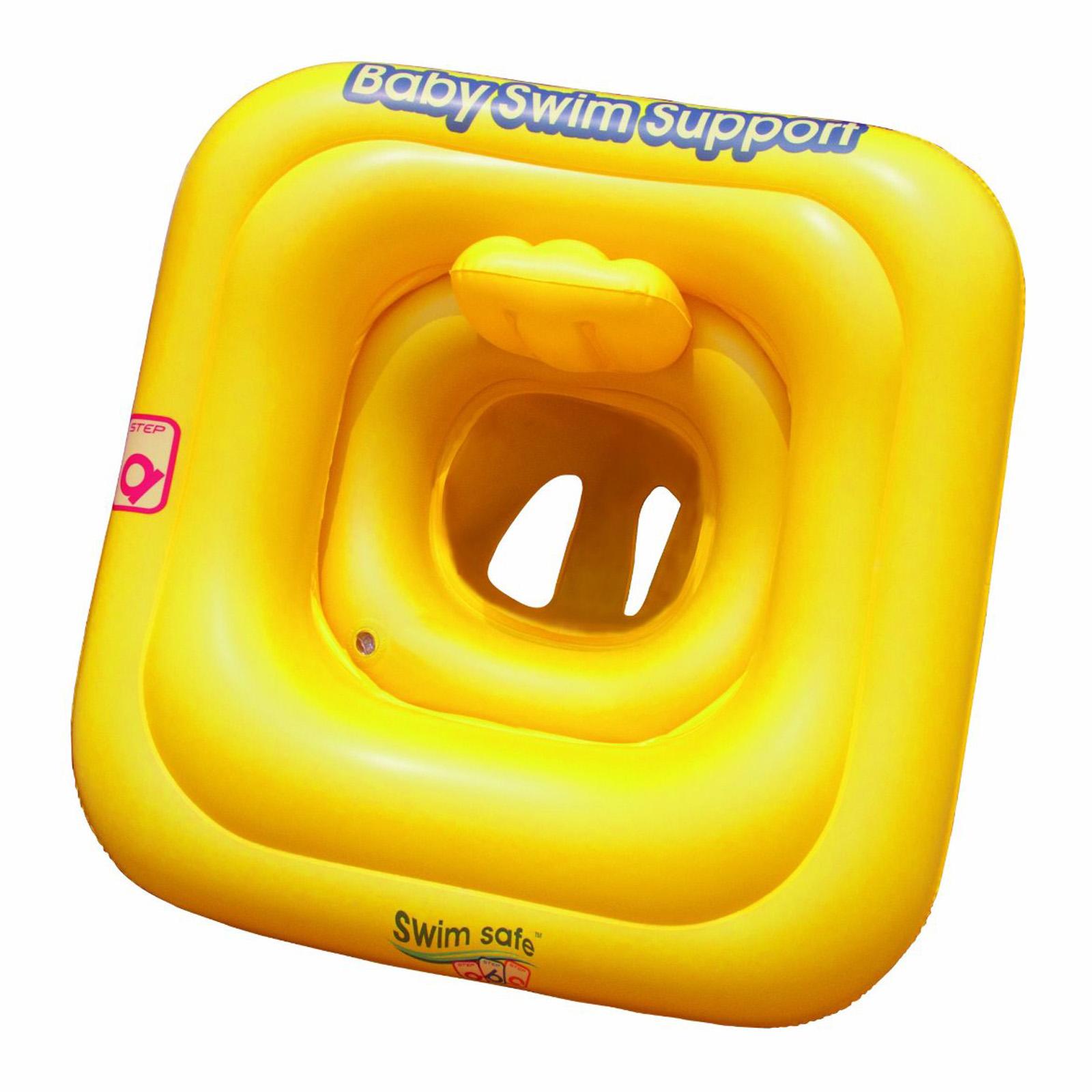 Baby schwimmen sitz bestway safety schwimmend ring for Badepool aufblasbar