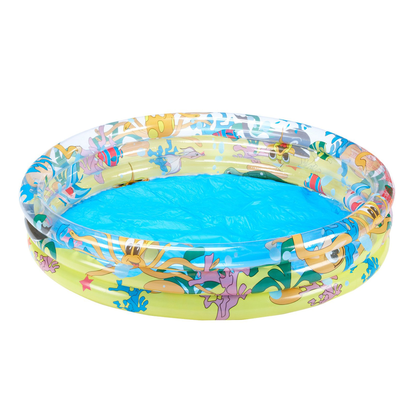 Paddling Pool Swimming Garden Inflatable Kids Outdoor Bestway Ocean Life 48 Ebay