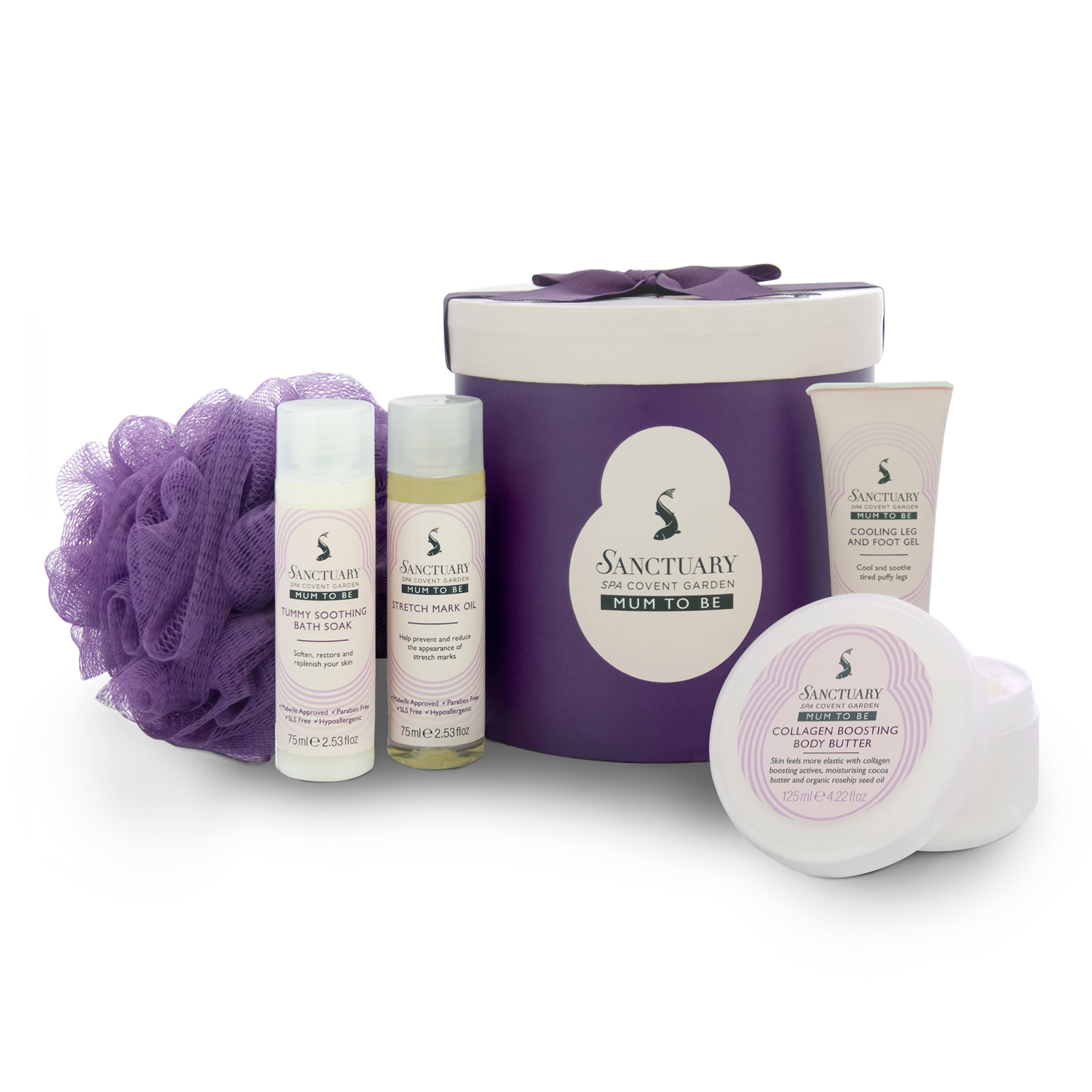 Sanctuary Spa Covent Gardens Mum To Be Bath Shower Luxury Gift Set Enlarged Preview