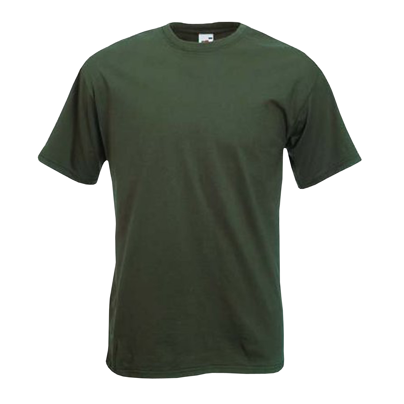 T Shirt Mens Fruit Of The Loom Cotton Tee Plain Blank