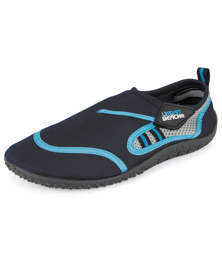 Urban Beach Boys Blue Reed Waterproof Beach Aqua Shoes ...
