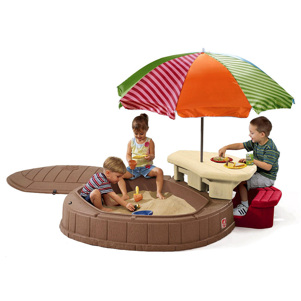 Step 2 Toys For Toddlers : Sand pit water box table toy children outdoor play plastic