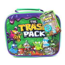 Lunch Box Trash Pack Bag School Travel Children Kids Boys Insulated Preview