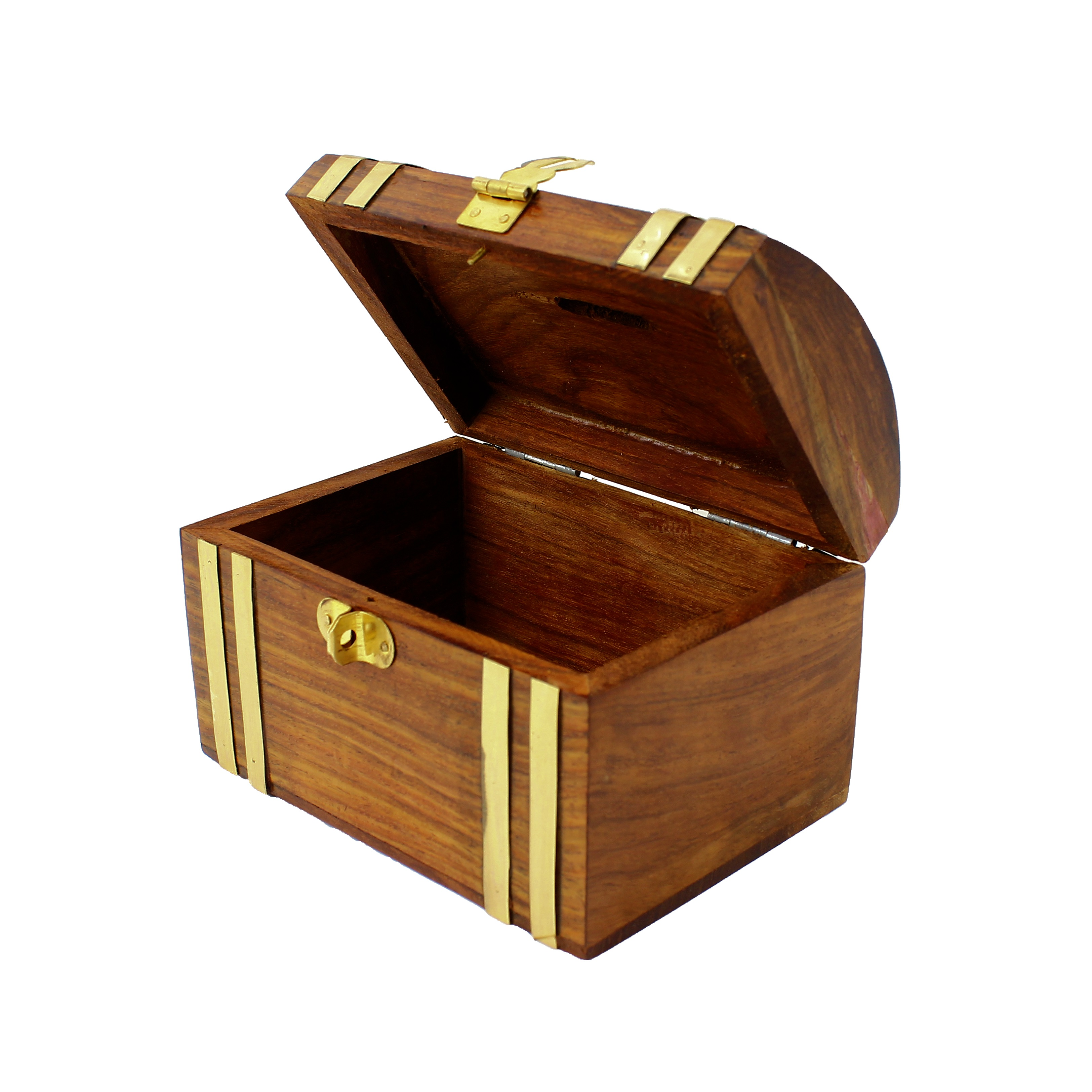 Money box bank cash safe security storage hand carved for Home money box