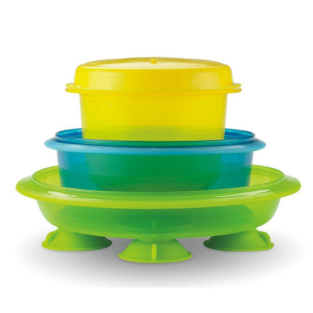 Plate bowl set baby 3 piece feeding mealtime fisher price for Fisher price fish bowl