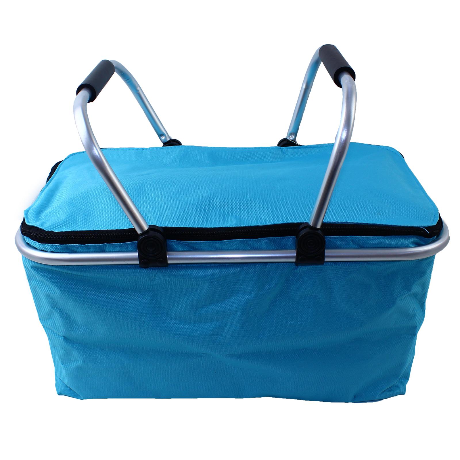 Sac Fourre Tout De Voyage : Picnic basket refroidisseur sac panier isotherme pliable