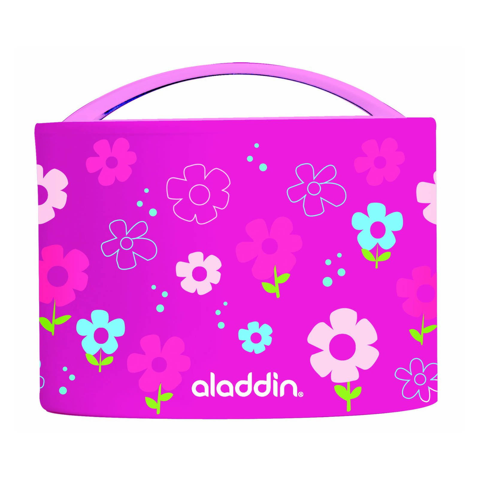 lunch box childrens pattern insulated bento aladdin design safe pink 0 6l ebay. Black Bedroom Furniture Sets. Home Design Ideas