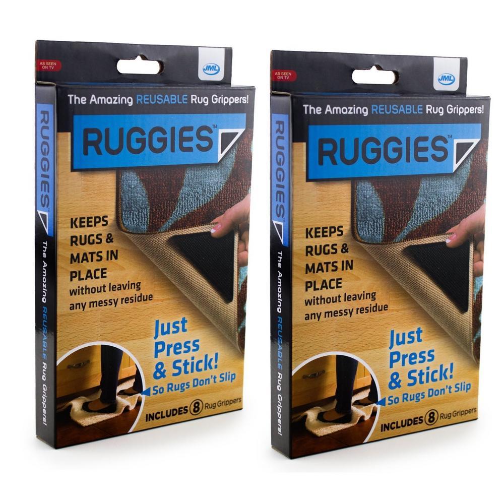Carpet Grippers JML Ruggies Non Slip Skid Mat Reusable ...