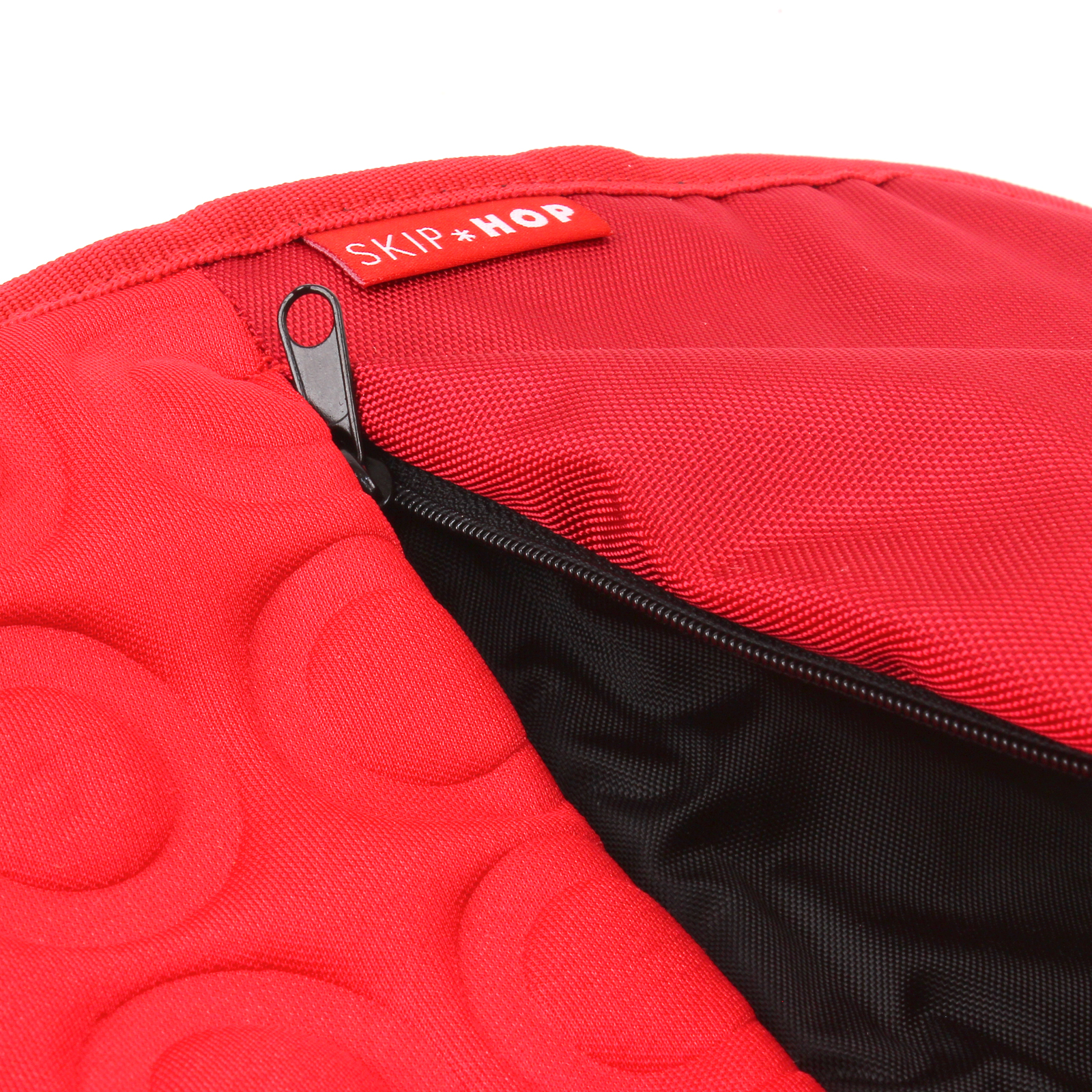 baby pushchair seat liner skip hop memory foam car pram cover stroller red ebay. Black Bedroom Furniture Sets. Home Design Ideas