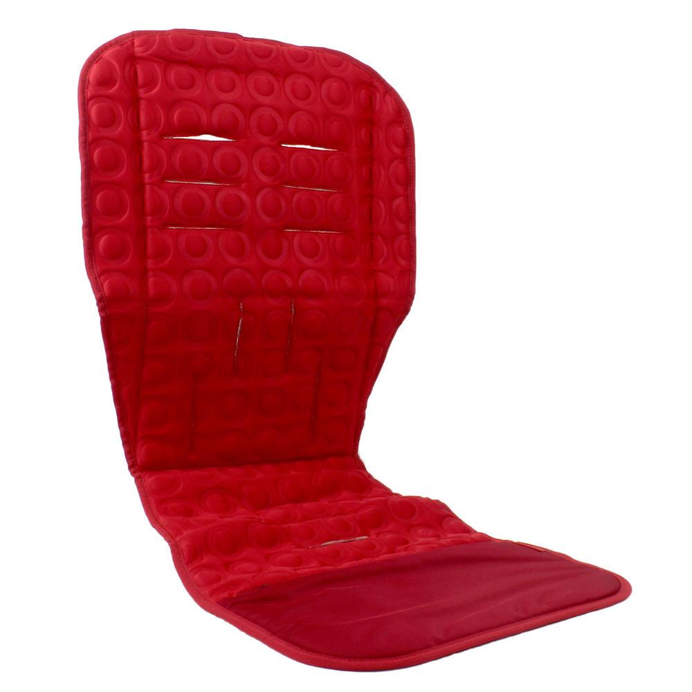 baby pushchair seat liner skip hop memory foam car pram cover stroller red footmuffs aprons. Black Bedroom Furniture Sets. Home Design Ideas