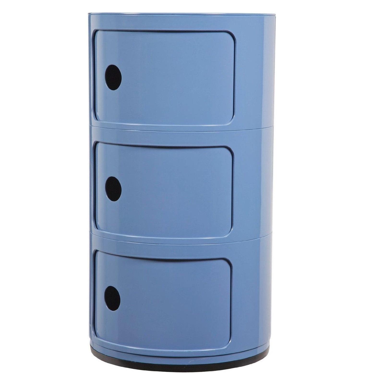 Childrens Animals Storage Box Chest 3 Kids Drawer Bedroom: Kids Drawer Storage Unit Bedroom 3 Tier Cabinet Shelf