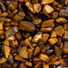 View Item Gold Tiger's Eye Gemstone Chakra Healing Crystal Natural Tumblestone Small x1