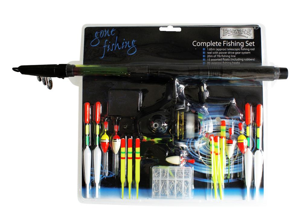 Boyz toys complete fishing set 4 beginners free uk p p for Fishing toy set