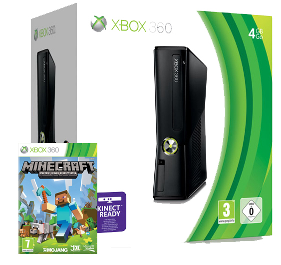 Details about XBOX 360 4gb CONSOLE   MINECRAFT XBOX EDITION NEW SEALED    Xbox 360 Minecraft Console