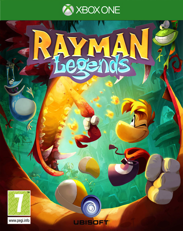 RAYMAN LEGENDS XBOX ONE VIDEO GAME BRAND NEW SEALED OFFICIAL PAL
