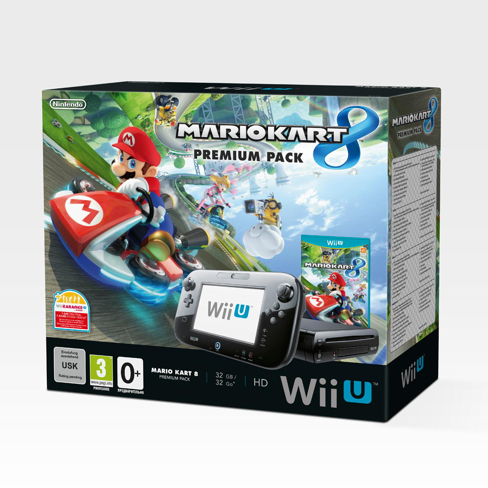 nintendo wii u mario kart 8 premium special edition brand. Black Bedroom Furniture Sets. Home Design Ideas
