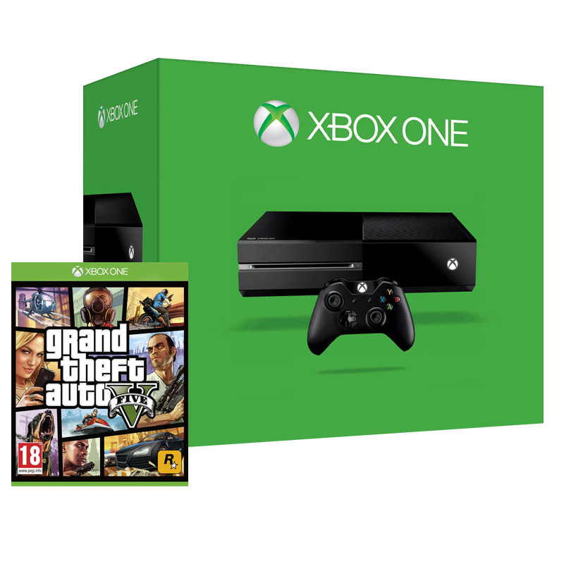xbox one console gta v bundle brand new sealed official pal bf02 ebay. Black Bedroom Furniture Sets. Home Design Ideas