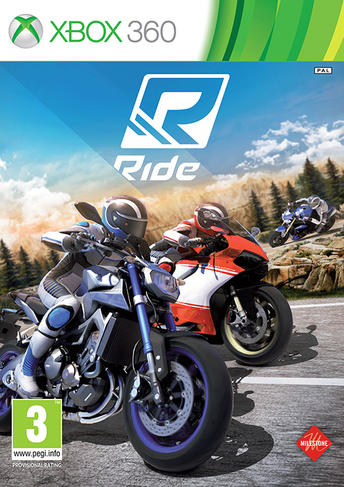 ride xbox 360 racing game brand new sealed official. Black Bedroom Furniture Sets. Home Design Ideas