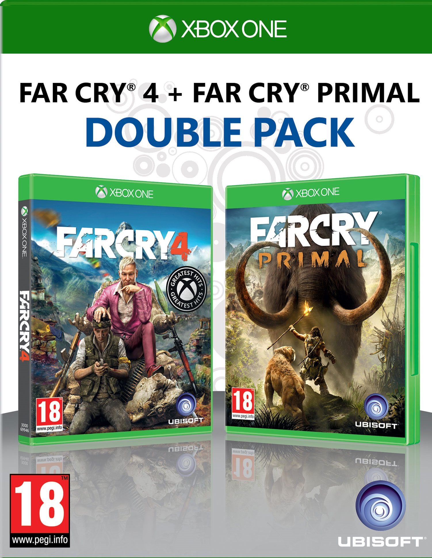 far cry 4 far cry primal xbox one ebay. Black Bedroom Furniture Sets. Home Design Ideas
