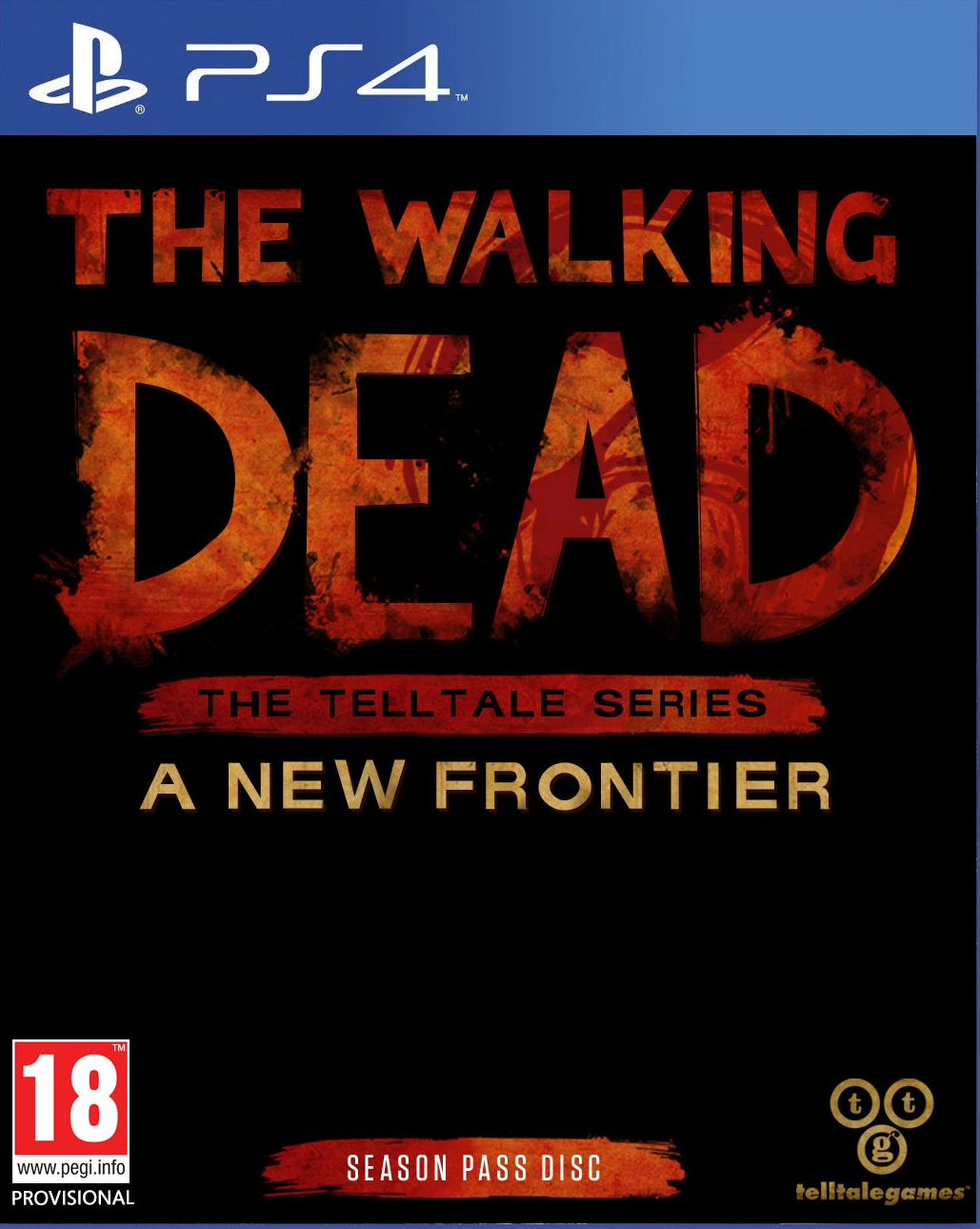 the walking dead the telltale series a new frontier ps4. Black Bedroom Furniture Sets. Home Design Ideas