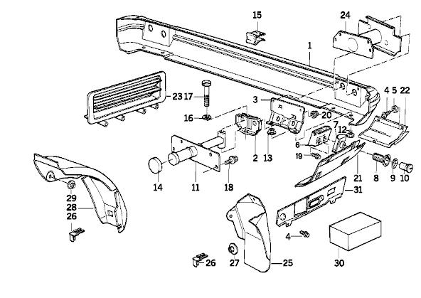 w210 bumper diagram  w210  free engine image for user