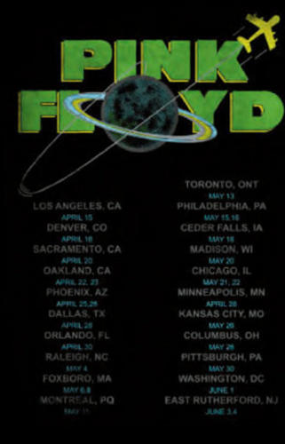 Official-T-Shirt-PINK-FLOYD-Black-DARK-SIDE-TOUR-Unisex