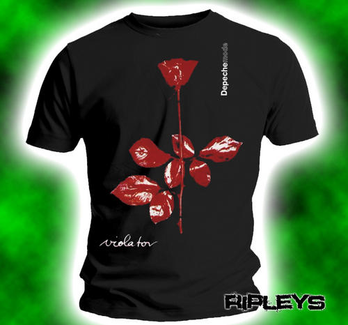 Official-Band-T-Shirt-DEPECHE-MODE-Classic-VIOLATOR-All-Sizes