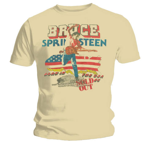 Official-T-Shirt-BRUCE-SPRINGSTEEN-Sand-TOUR-All-Sizes