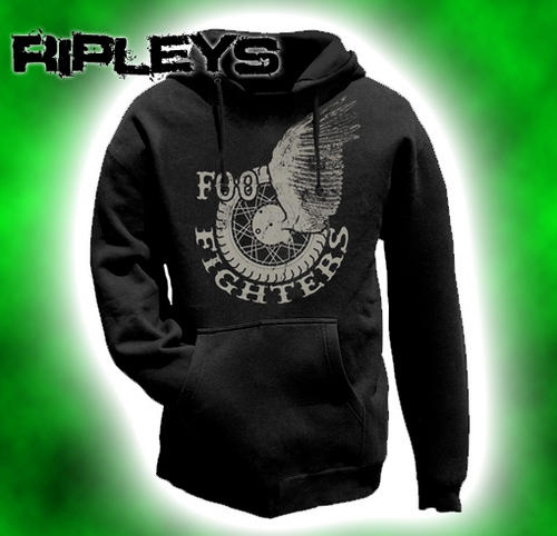 Official-Hoodie-Hoody-FOO-FIGHTERS-Pullover-WINGS-Logo-All-Sizes