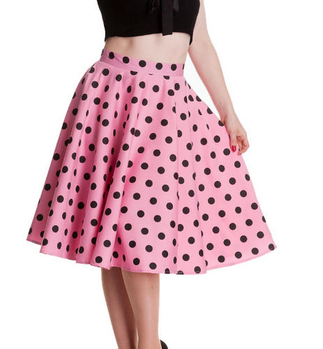 Pink Black Skirt - Dress Ala