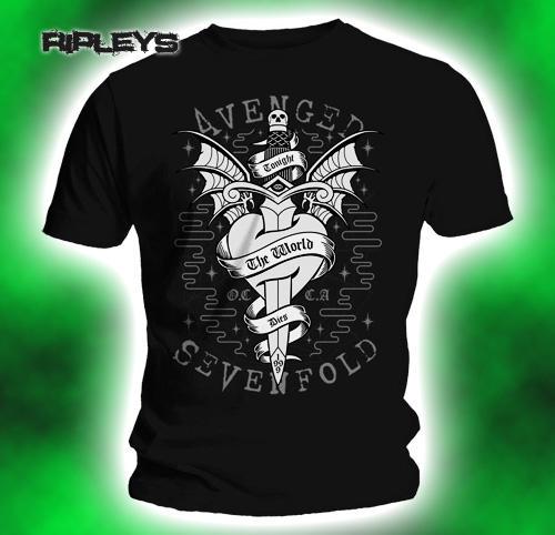 Official-TShirt-AVENGED-SEVENFOLD-Logo-Cloak-Dagger-All-Sizes