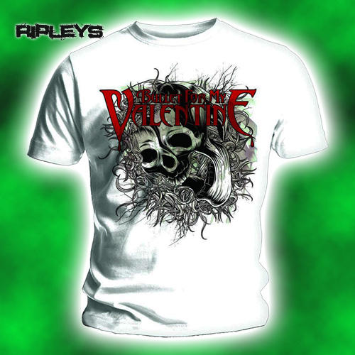 Official-T-Shirt-BULLET-for-my-VALENTINE-Temper-SKULL-SWIRLS-Swirlz-All-Sizes