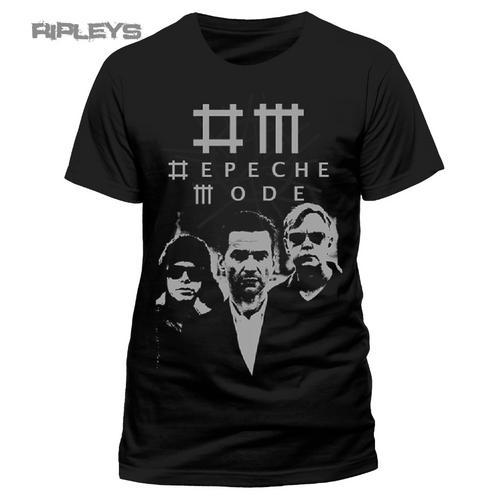 official band t shirt depeche mode logo black photo band. Black Bedroom Furniture Sets. Home Design Ideas